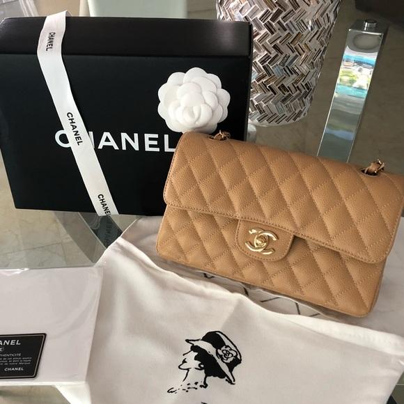 eb034180e654 CHANEL Handbags - Chanel classic small double flap handbag